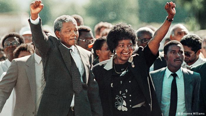 Nelson and Winnie Mandela (photo: Greame Williams)