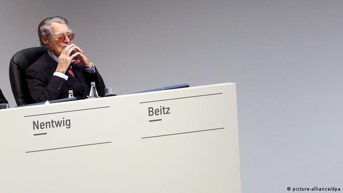 Hauptversammlung von Thyssen Krupp AG