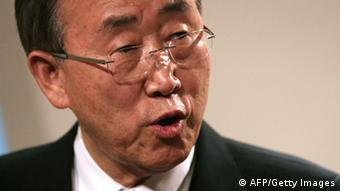 UN chief Ban Ki-moon. Photo : ADEM ALTAN/AFP/Getty Images