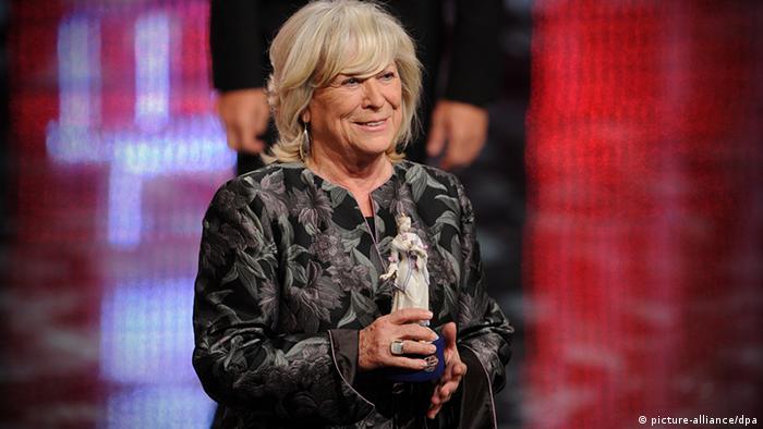 Margarethe von Trotta beim Bayrischen Filmpreis 2012 in München