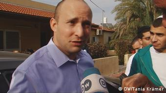 Screenshot DW TV Video Naftali Bennett Israel