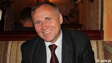 Politiker Nikolai Statkevich Präsidentschaftskandidat Belarus