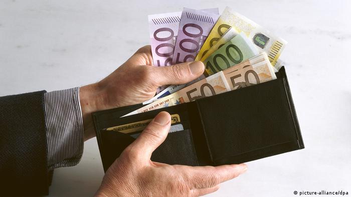 Symbolbild Geldbörse