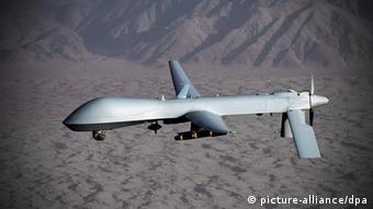A US Airforce drone of the type MQ-1 Predator. (Photo: dpa)