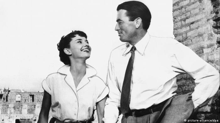 Audrey Hepburn und Gregory Peck in Ein Herz und eine Krone
