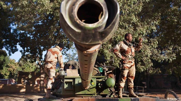 Französische Soldaten im Mali-Einsatz (Foto: reuters)