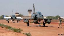 Mali / Französische Mirage / Bamako