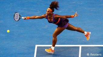 Australian Open Tennis Serena Williams 21. Januar 2013