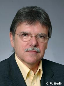 Prof. Niedermayer. Bild ist zur honorarfreien Verwendung durch die Deutsche Welle freigegeben.