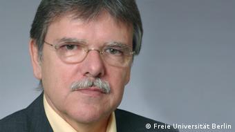 Prof. Dr. Oskar Niedermayer von der FU Berlin (Foto: J. Schmeller)
