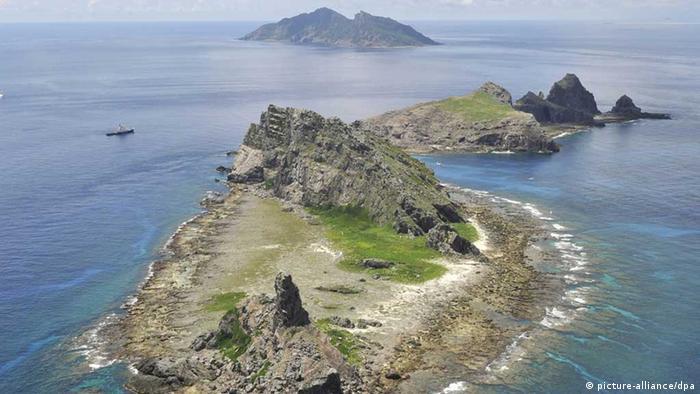 Minamikojima, Kitakojima and Uotsuri islands, part of the Japanese-controlled Senkaku Islands in the East China Sea, which are known in China as Diaoyu and in Taiwan as Tiaoyutai. (Kyodo)