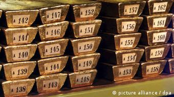 647 τόνοι χρυσού θα πρέπει να μεταφερθούν συνολικά μέχρι το 2020