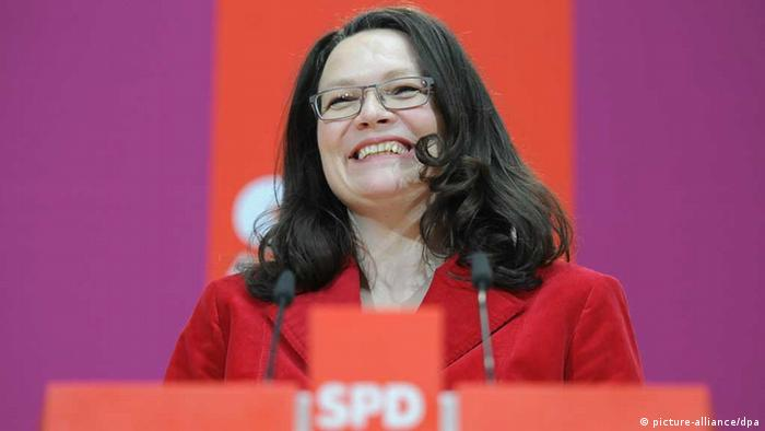 Andrea Nahles (Foto: picture-alliance/dpa)
