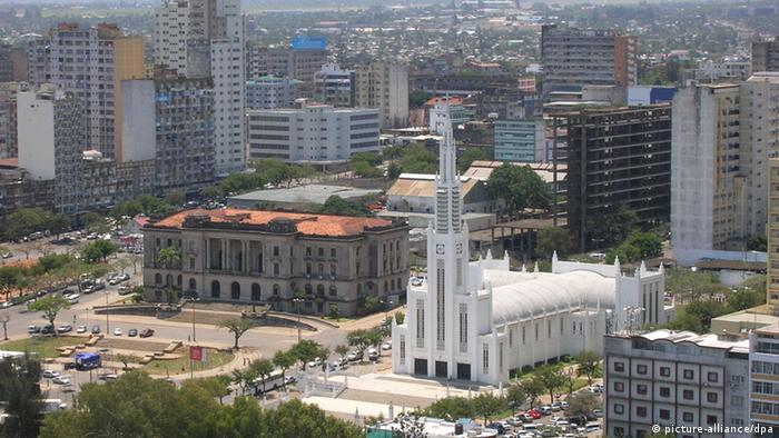 View of Maputo, venue for the weekend SADC summit. Photo: Lazlo Trankovits dpa