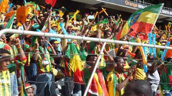Africa Cup Zuschauer Äthiopien vs Sambia