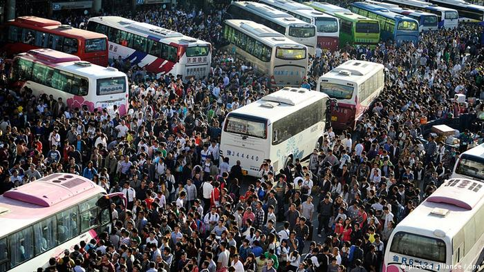 Bildergalerie Non Verbale Kommunikation China Deutschland (picture alliance / dpa)