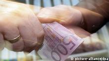 Symbolbild Schmiergeld Korruption