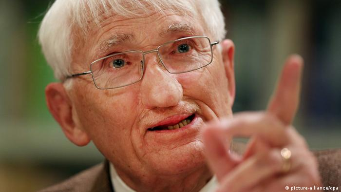 German philosopher Jürgen Habermas at 90