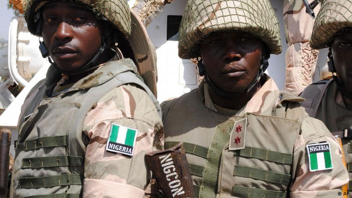 Soldiers from Nigeria