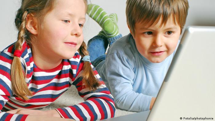 Symbolbild Kinder Multimedia Computer