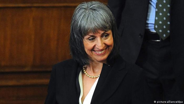 Bulgarien Ministerin Margarita Popowa