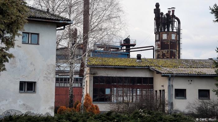 Napuštena tvornica stolica i stolova u Loparama