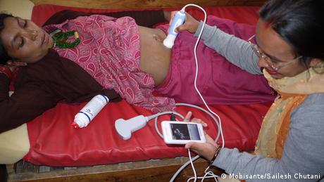 Nepal Ultraschall