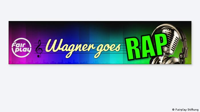 Logo Wagner goes Rap