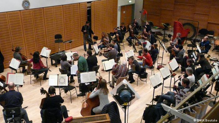 Оснабрюкский симфонический оркестр: последняя репетиция перед отъездом