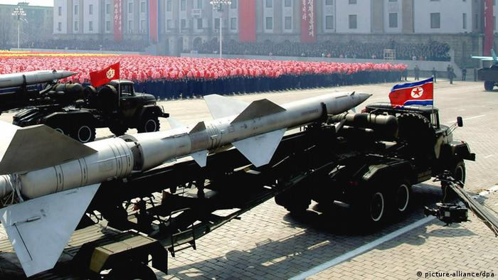Nordkorea Missile Tests
