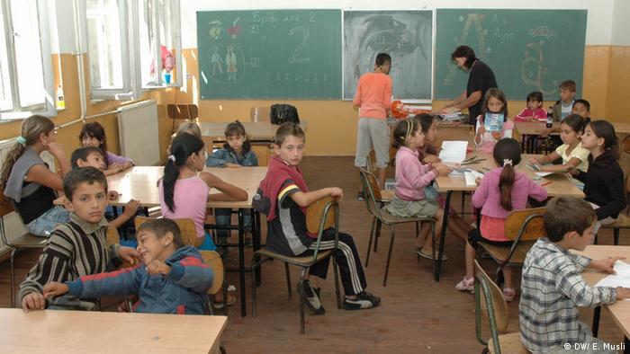 Romska djeca u razredu