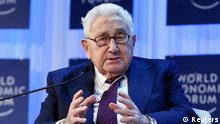 WEF Davos Henry Kissinger