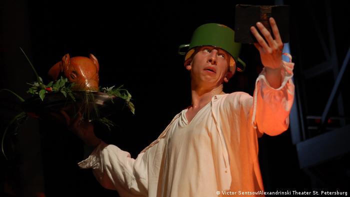 ''Гамлет''. Сцена из спектакля