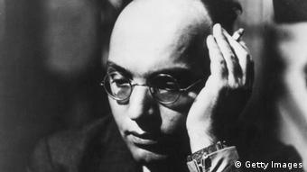 German-Jewish composer Kurt Weill emigrated to the US in 1935 Copyright: Keystone/Getty Images