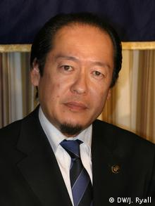 Portrait shot of Futoshi Toba, mayor of the town of Rikuzentakata, Japan. (photo: Julian Ryall January 24th, 2013)