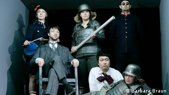 The cast of the The Kaiser von Atlantis in 2013 (Barbara Braun)