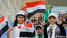 Fußball Fans Irak