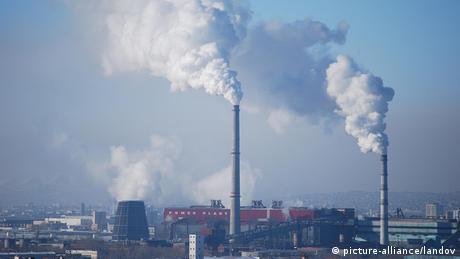 Mongolei Luftverschmutzung in Ulan Bator