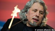 Russian script writer Vladimir Sorokin attends the press conference of the film 'Mishen' ('Target') during the 61st Berlin International Film Festival in Berlin, Germany, 14 February 2011. The film is running in the section Panorama Special of the International Film Festival. The 61st Berlinale takes place from 10 to 20 February 2011. Photo: Arno Burgi dpa