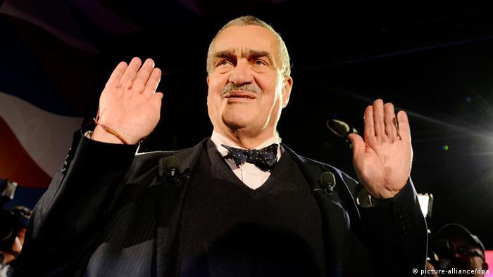 Präsidentenwahl Tschechien Karel Schwarzenberg