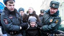 Russland Demonstration Homosexuellen Propagada Gesetz