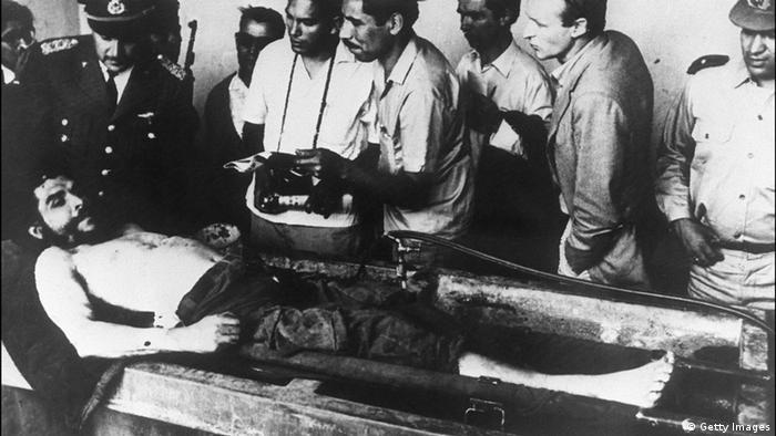 Leiche von Che Guevara (Getty Images)