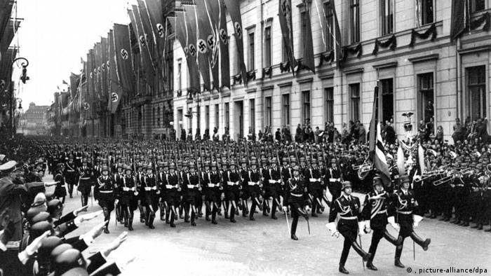 Парад личной гвардии фюрера