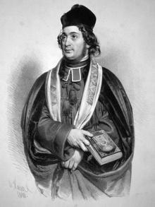 Австрийский кантор и композитор Соломон Зульцер
