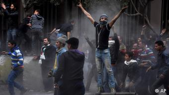 Egyptian protesters(Photo:Hussein Tallal/AP/dapd)