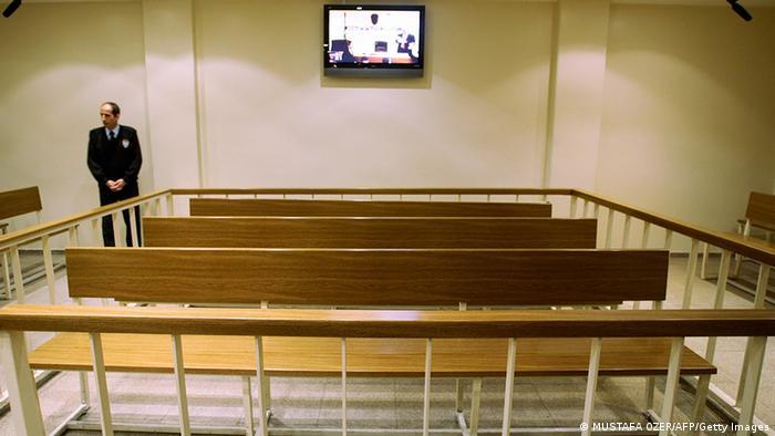 Türkei Gerichtsgebäude Gerichtssaal in Istanbul (MUSTAFA OZER/AFP/Getty Images)