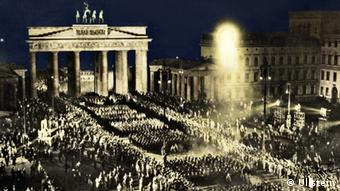 Machtergreifung NSDAP Adolf Hitler Reichskanzler Fackelzug