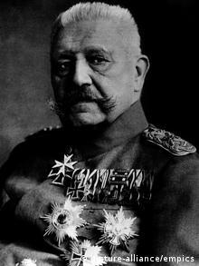 Paul von Hindenburg (picture-alliance/empics)