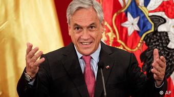Sebastian Pinera Präsident Chile
