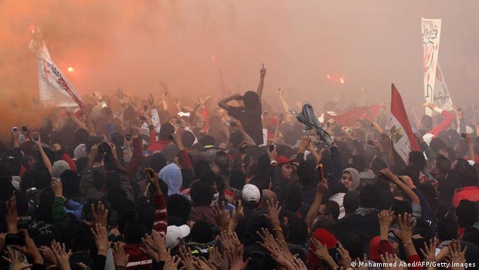 Ägypten Gericht Todesurteil Fußball Krawall Port Said Massaker